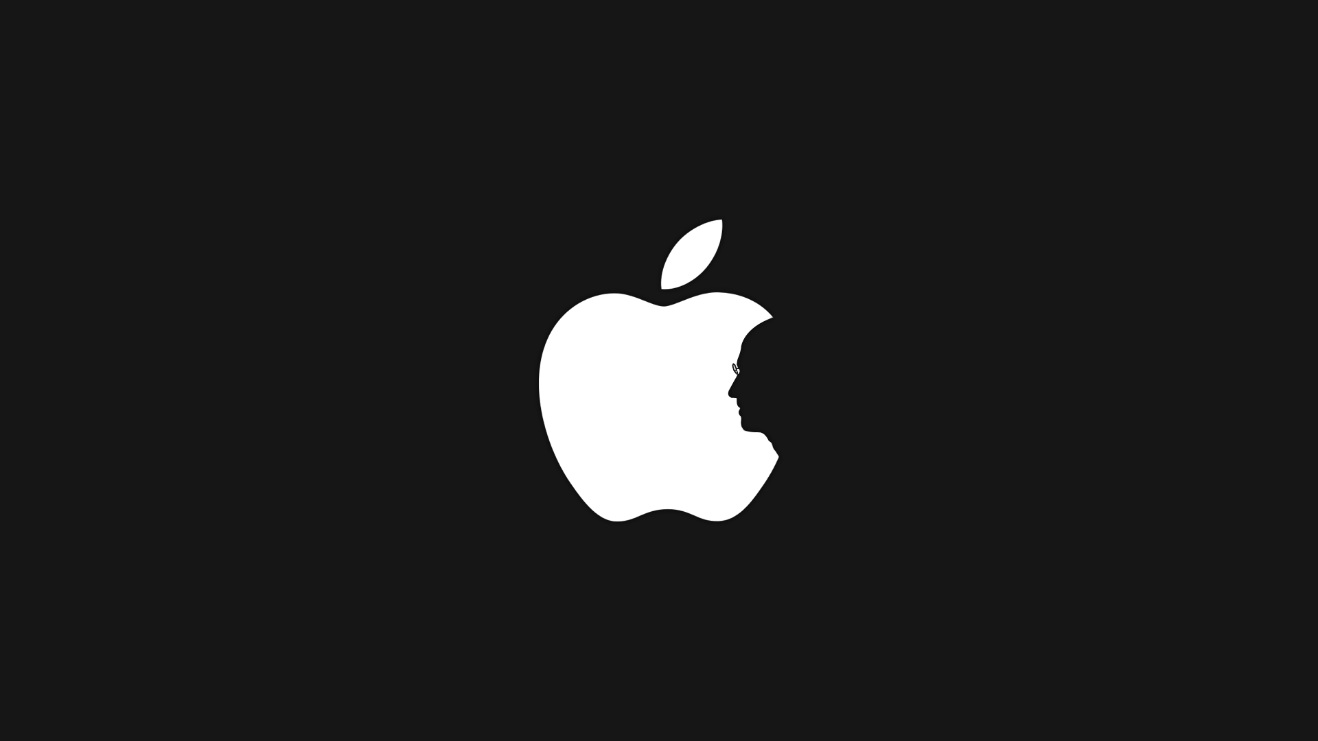 Steve Jobs Apple Silhouette